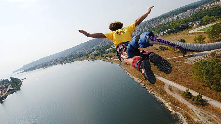 Skyvision скок с бънджи