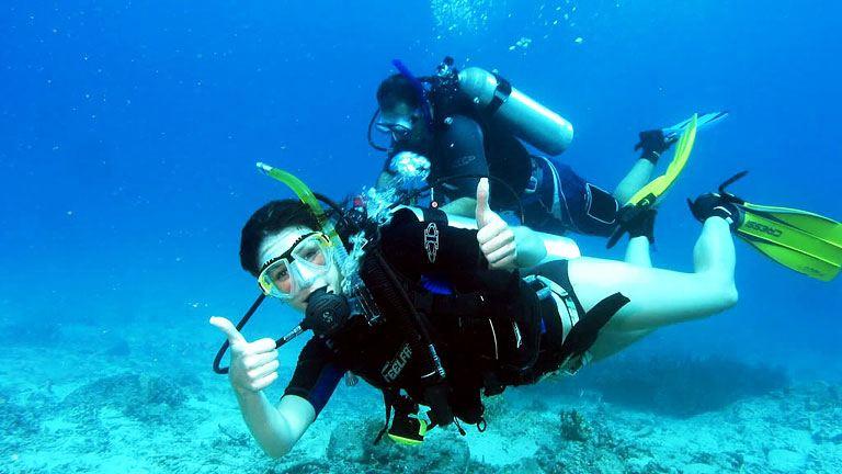 Как да се запишете за изгоден водолазен курс?