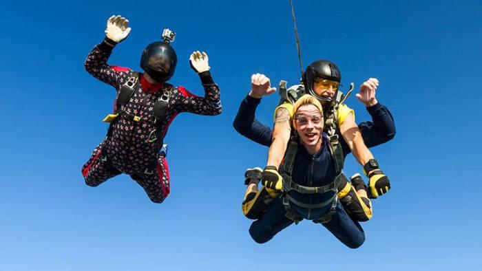 Skyvision скок с парашут