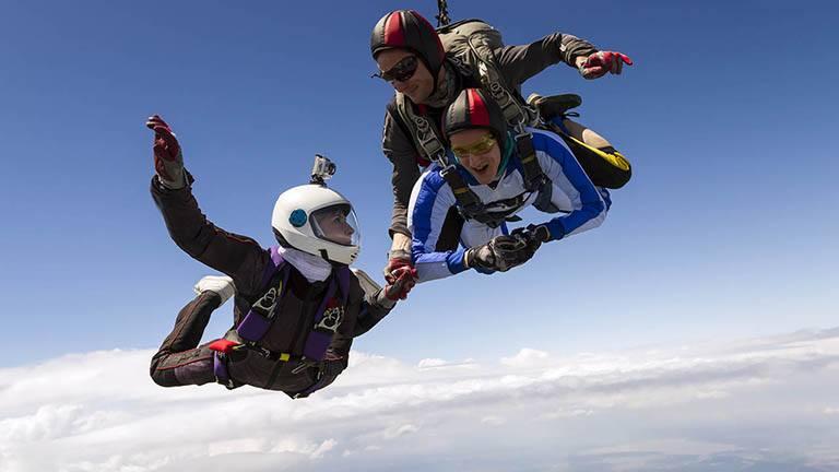 Организиране на скок с парашут  - как?